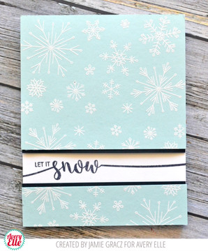 Snowflakes Clear Stamps & Dies