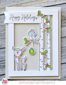 Winter Woodland Wonders Clear Stamps & Dies