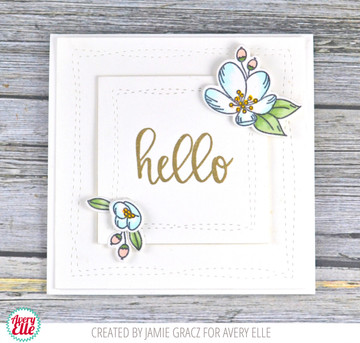 Modern Calligraphy Clear Stamps & Dies