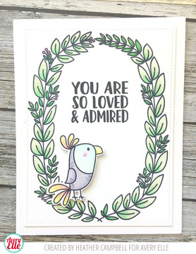 Loved & Admired Clear Stamps & Dies