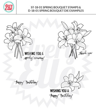 Spring Bouquet Dies Example