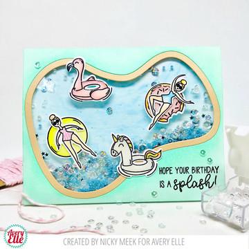 Splash! Clear Stamps & Dies