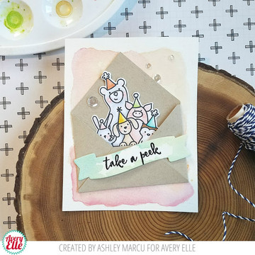 Take a Peek Clear Stamps & Dies