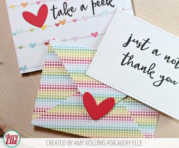 Take A Peek Clear Stamps & Dies