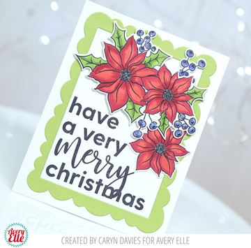 Corner Sentiments Holiday Clear Stamps