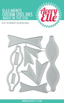 Avery Elle Wonky 3D Bow Dies