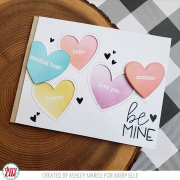 Simple Sentiments Clear Stamps