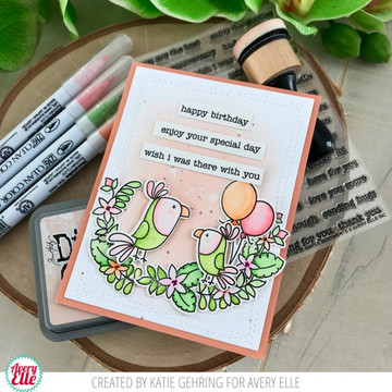 Simple Sentiments Clear Stamps & Dies