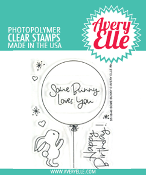 Avery Elle Some Bunny Clear Stamps
