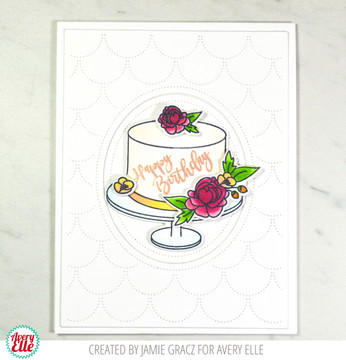 Cake For All Clear Stamps & Dies