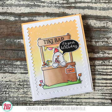 Market Stand Clear Stamps & Dies