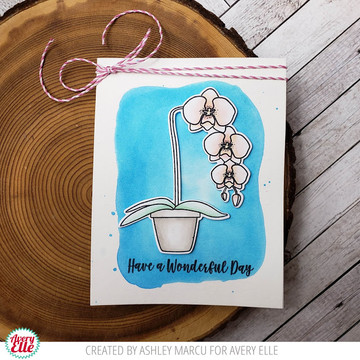 Orchid Clear Stamps & Dies