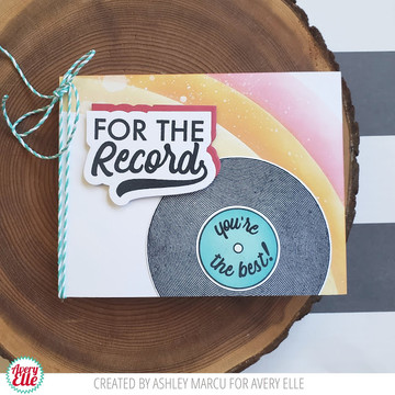 For The Record Clear Stamps & Dies