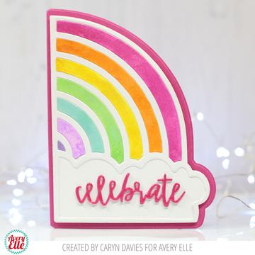 Rainbows Clear Stamps & Dies