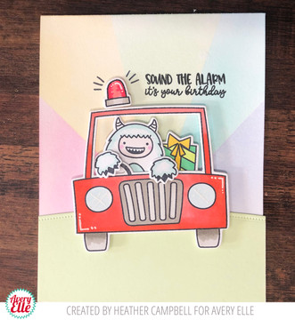 Peek-A-Boo Scary Pals Clear Stamps & Dies, Peek-A-Boo Car Stamps & Dies