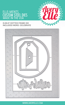Avery Elle Dotted Frame Dies