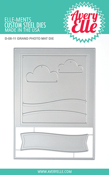 Avery Elle Grand Photo Mat Dies