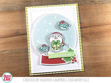 Seasonal Simple Sentiments Clear Stamps