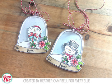 Cloche Clear Stamps & Dies