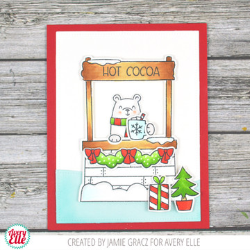 Cocoa Stand Clear Stamps & Dies