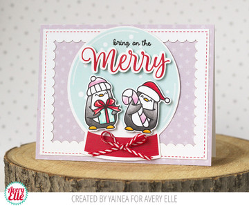 Polar Playtime Clear Stamps & Dies