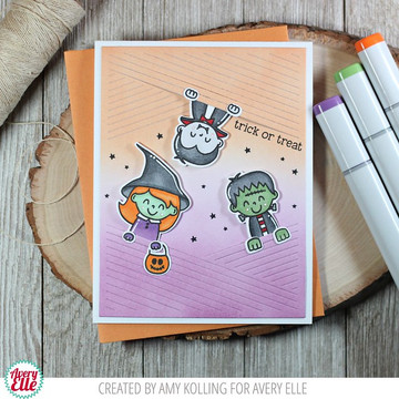 Peek-A-Boo Pals: Spooktacular Clear Stamps & Dies