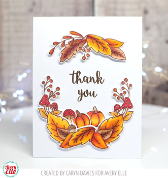 Fall Foliage Clear Stamps & Dies