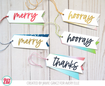 Hooray Clear Stamps