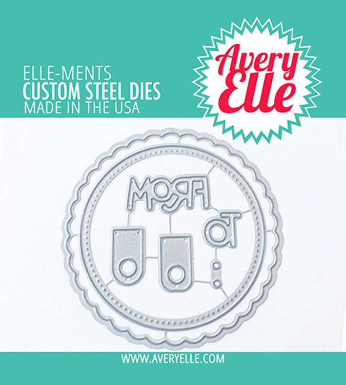 Avery Elle Holiday Circle Tags Dies