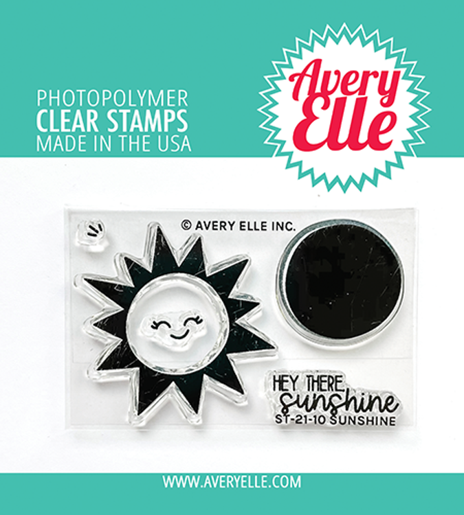 Avery Elle Sunshine Clear Stamps