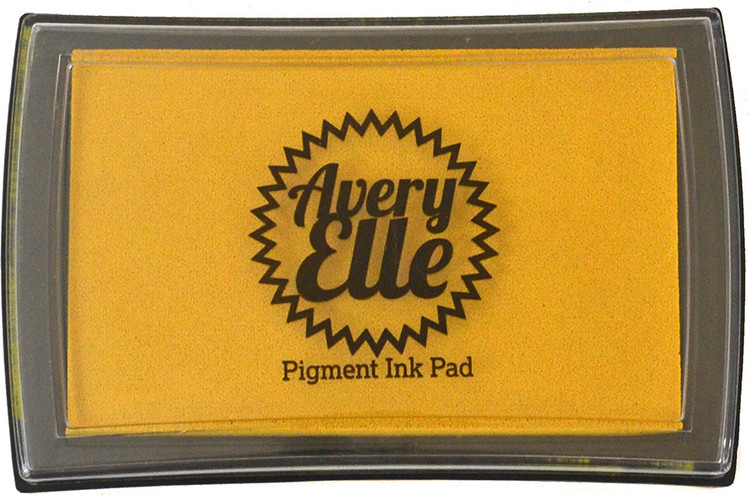 Avery Elle Mustard Seed Pigment Ink Pad