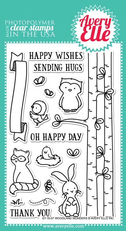 Woodland Wonders Clear Stamps
