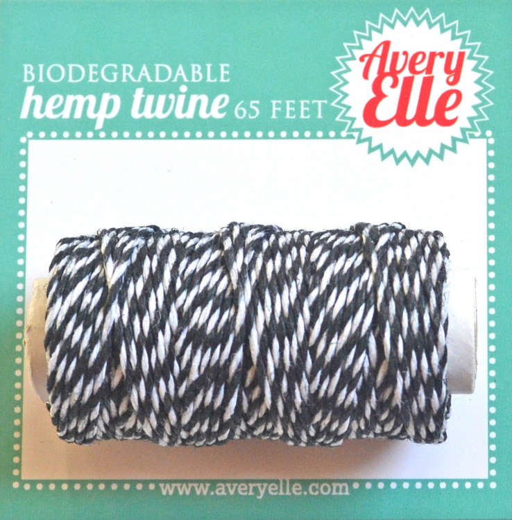 Midnight Hemp Twine