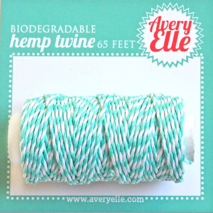Aquamarine Hemp Twine