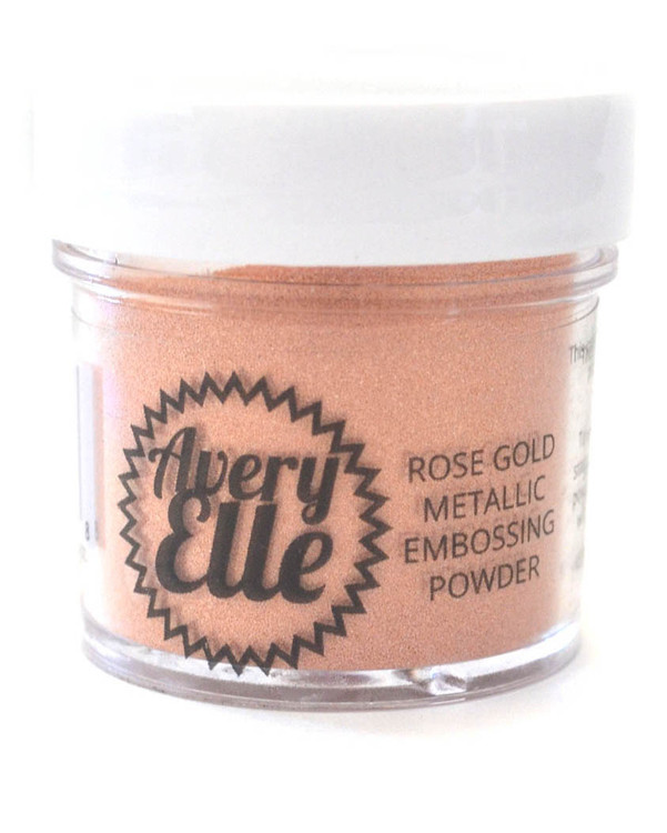 Rose Gold Metallic Embossing Powder