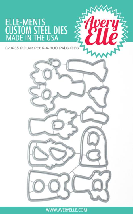 Avery Elle Polar Peek-A-Boo Pals Dies
