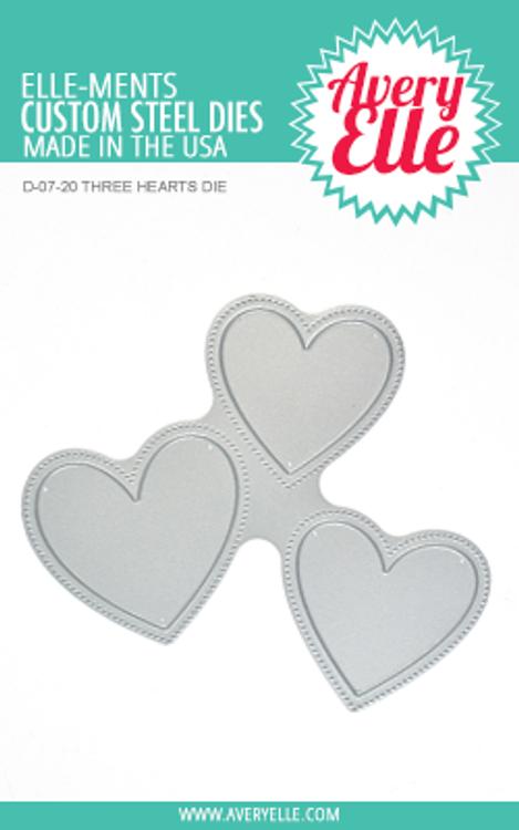 Avery Elle Three Hearts Die