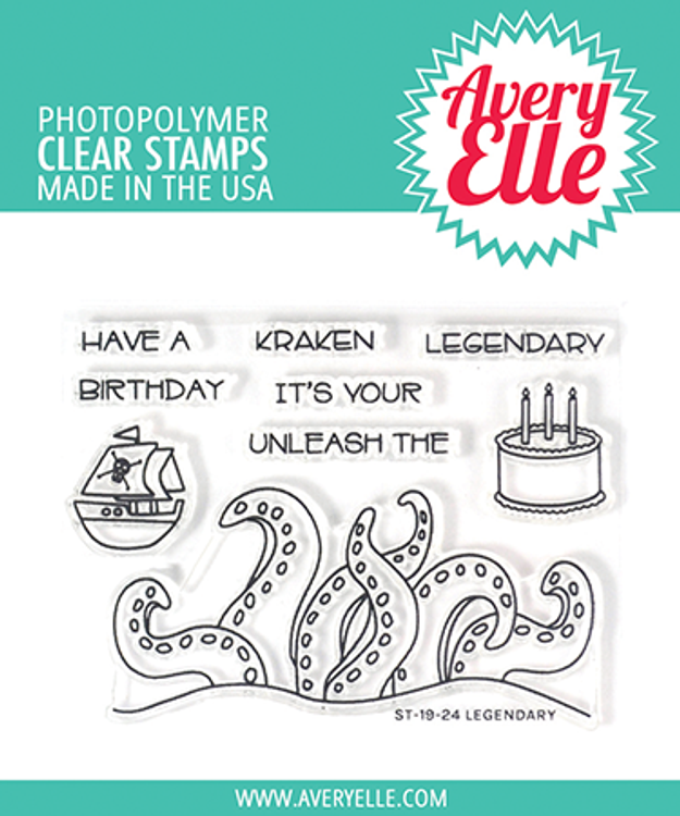 Avery Elle Legendary Clear Stamps