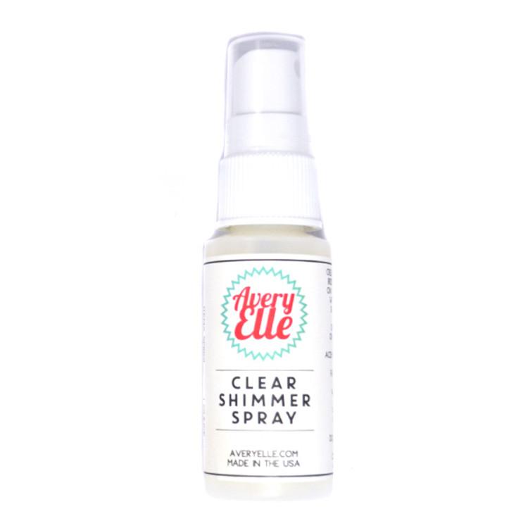 Avery Elle Clear Shimmer Spray