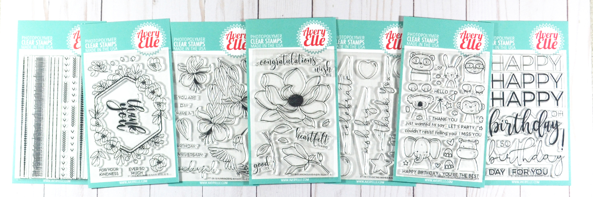 clear stamps avery elle