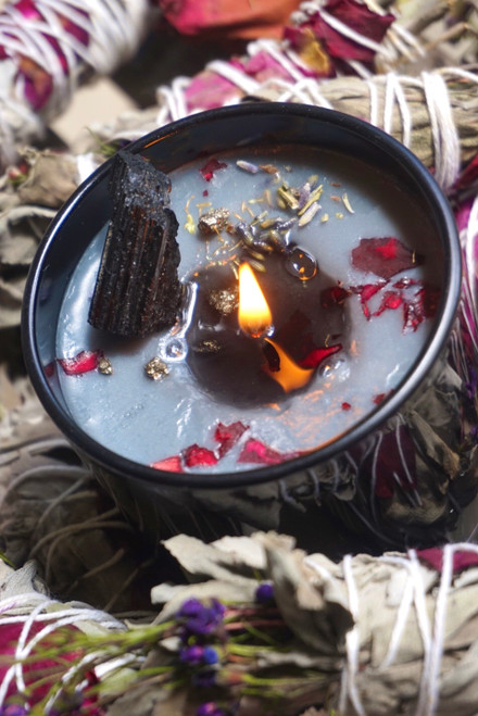 Energy Protection Candle | Transmutes Negative Energy