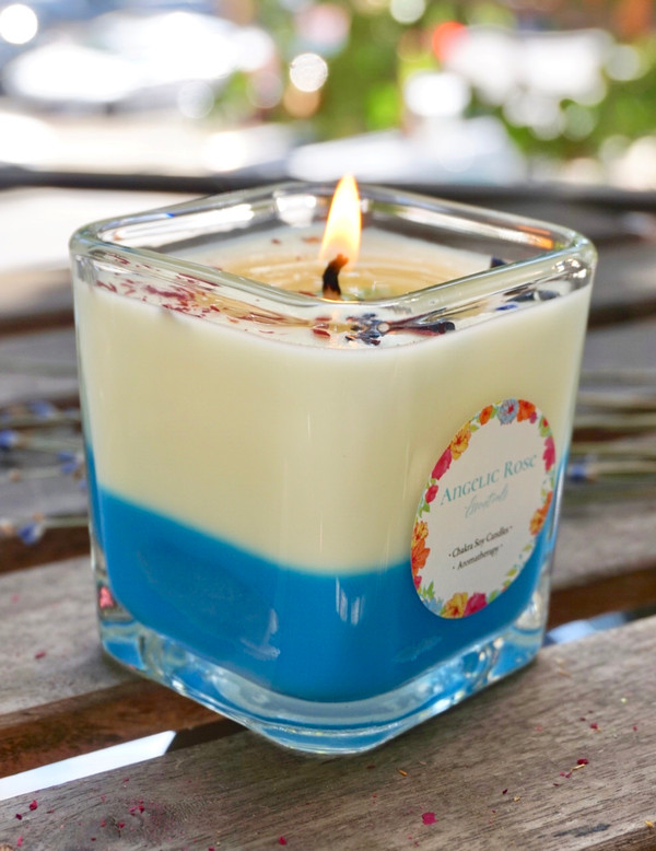 November Chakra Candle