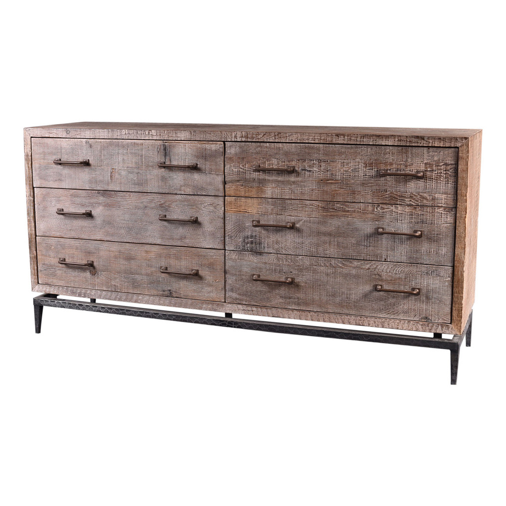 SIDEBOARD 6 DRAWER (F141)