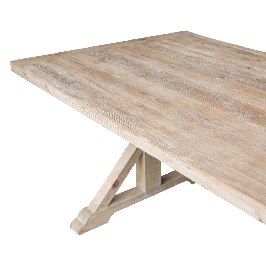DINING TABLE ELM 2.4M (ET1224)