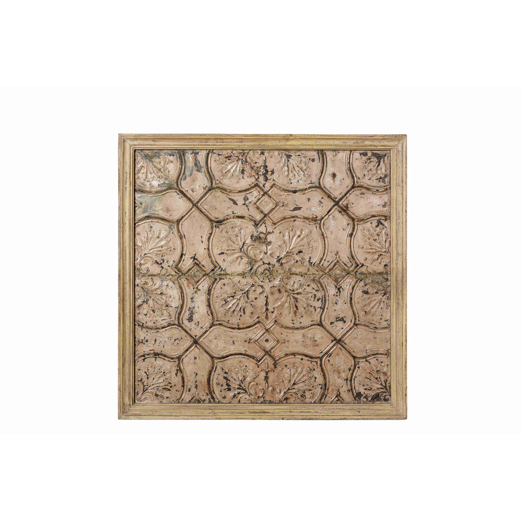 CEILING PANEL, PRESSED TIN (JV047)