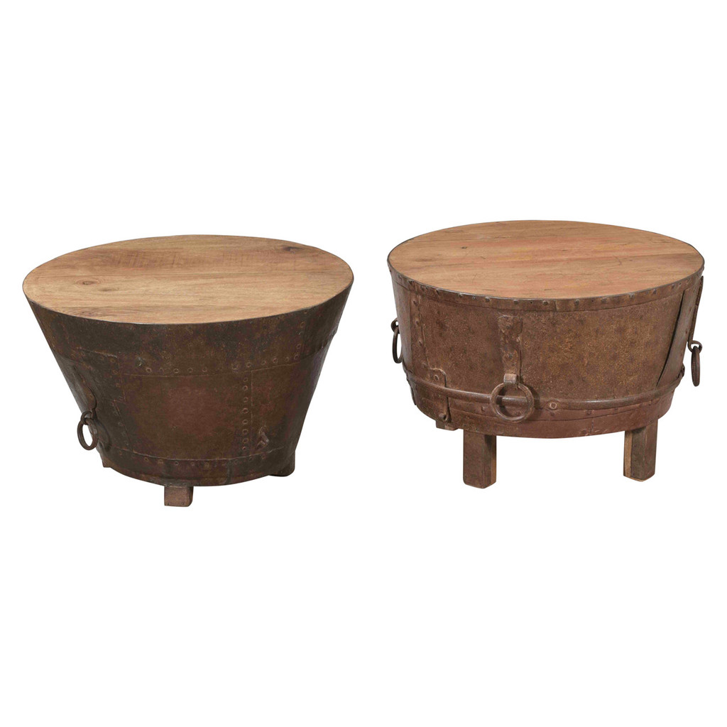 COFFEE TABLE DRUM (JX164)
