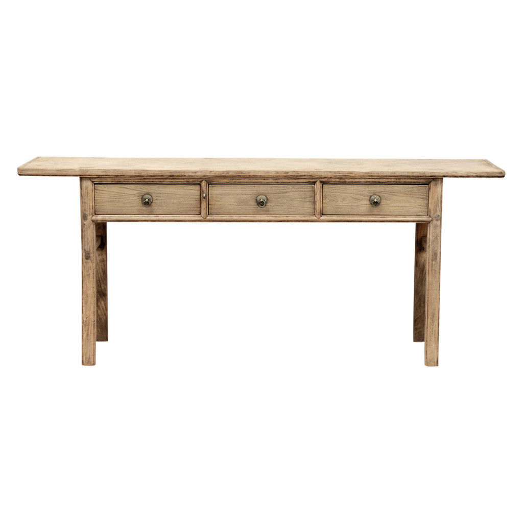 CONSOLE TABLE W/ DRAWERS (DL052)