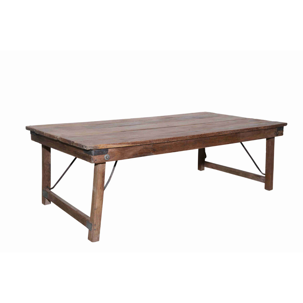 COFFEE TABLE, FOLDING, TEAK (JZ018)