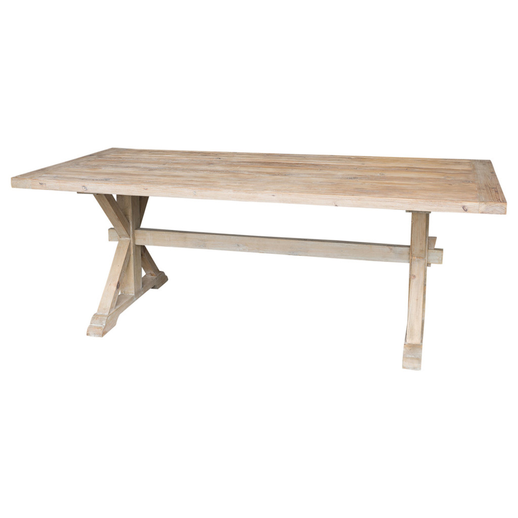 DINING TABLE RECLAIMED ELM 2.8 (ET1228)