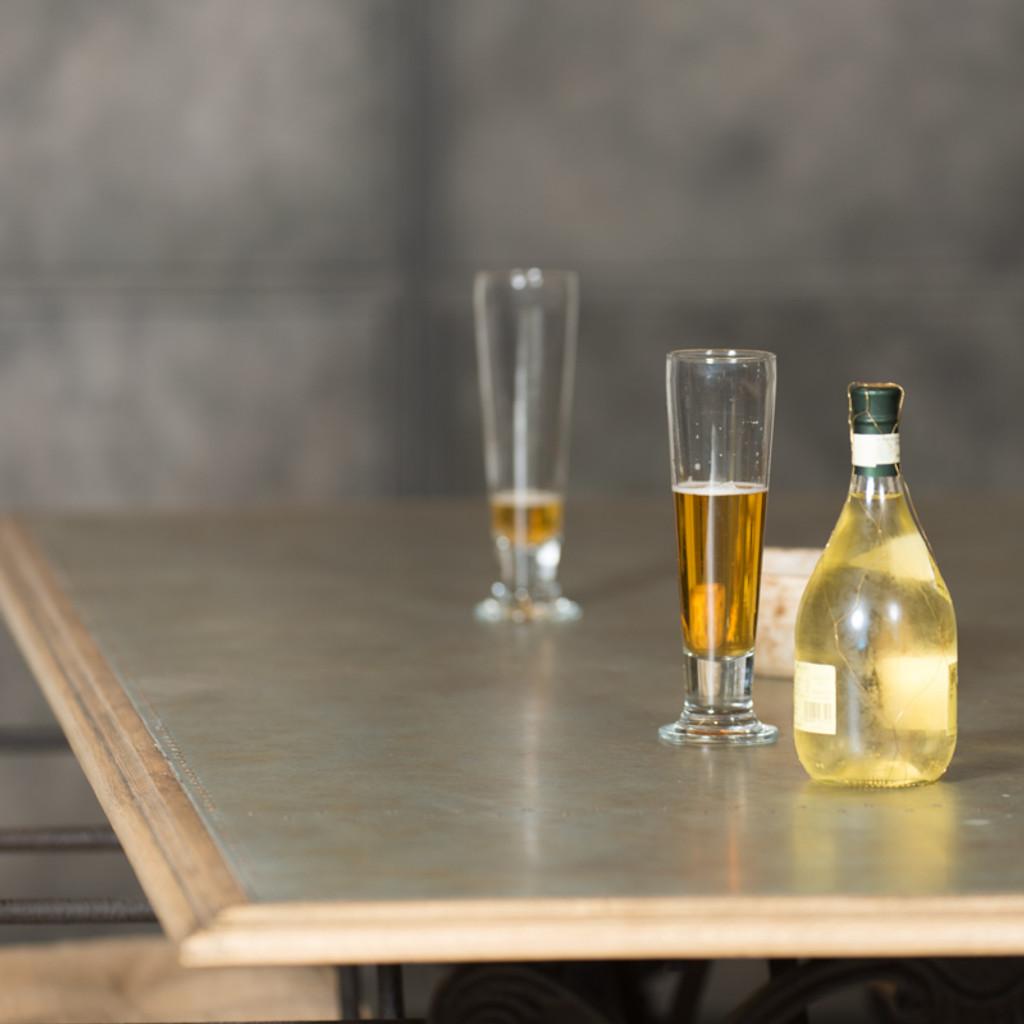 AGED ZINC TABLES